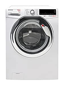 Hoover WDXA 5106 AH-S freestanding Front-load A White washer dryer - washer dryers (Front-load, Freestanding, White, Left, Rotary, Touch, Stainless steel)