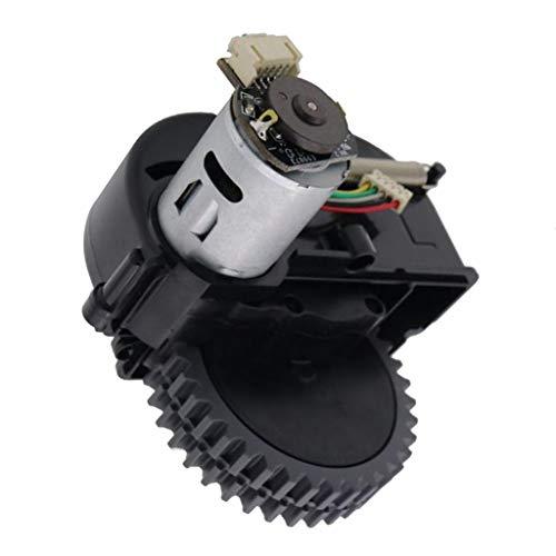 418P5C7cq1L - FLAMEER Rueda Giratoria Accesorios para Aspiradoras Piezas de Repuestos Trabaja con Ilife V3s Pro V5s Pro - Rueda Izquierda