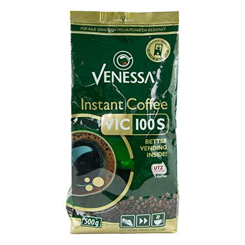 Venessa VIC 100S UTZ-zertifizierter Instant Kaffee 10er Pack, 10 x 500 g
