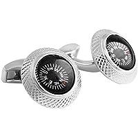 Tateossian RT Compass Mechanical Cufflinks