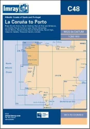 Imray Chart C48: A Coruna to Porto (C Series)