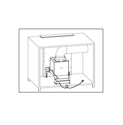 Montpellier DDCH90 | 90cm Kitchen Downdraft Extractor Fan | 2 Year Warranty