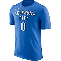 Nike NBA Oklahoma City Thunder Russell Westbrook 0 2017 2018 Icon Edition Jersey Official Name &