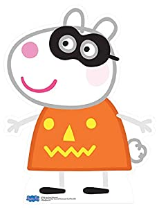Star Cutouts SC1274 Suzy oveja oficial (Peppa Pig Party Halloween) corte de cartón 73 cm de alto, multicolor