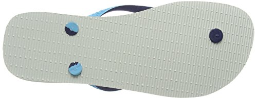 Havaianas Top Mix 4115549, Infradito Unisex – Adulto Bianco (white/blue/navy 2763)