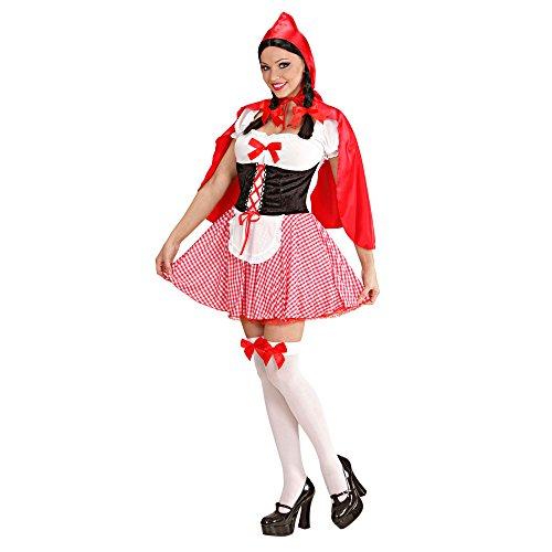 Widmann 70573 Erwachsenenkostüm Rotkäppchen, 42 (Die Preise Richtigen Kostüm)