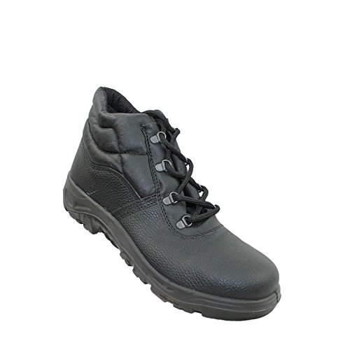 Jal group berufsschuhe businessschuhe chaussures de sécurité s1 chaussures de trekking (noir) Noir - Noir