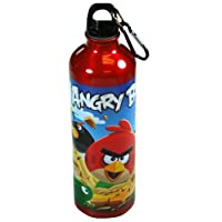 Angry Birds 26oz Aluminum Water Bottle with Caribiner by Rovio