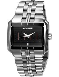 Police MATRIX PL10812JS/02M - Reloj analógico de mujer de cuarzo con correa de acero inoxidable plateada