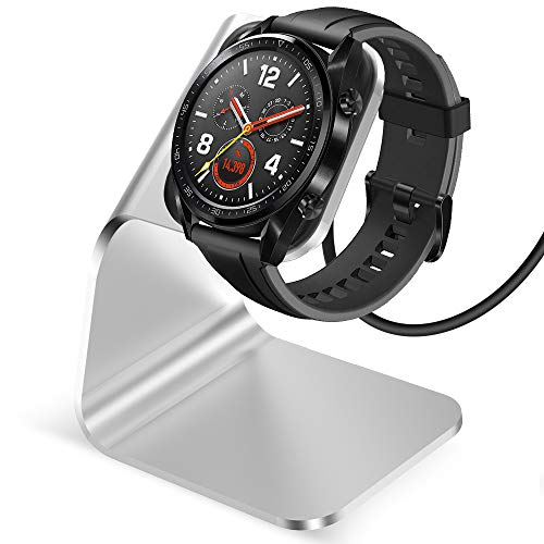 CAVN Ladegerät Kompatibel mit Huawei Watch GT/Honor Magic Watch Ladestation, (130cm/4.2ft) Ersatz USB Aluminium Ladekabel Schnellladegerät Lade Dock für GT Classic/Active/Elegant/Honor Magic Watch