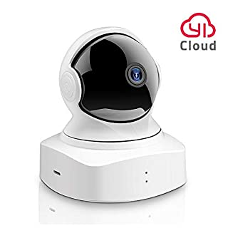 YI Cloud Dome Camera 1080P HD, Wireless IP Security Camera Pan/Tilt/Zoom Indoor Surveillance System with Night Vision, Motion Detection and Baby Crying Detection, Remote Monitor with iOS, Android App