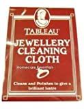 Jewellery cleaning cloth contains jewellers rouge