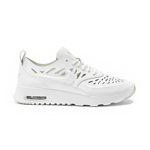 NIKE aIR mAX tHEA 725118-100 pECHEUR Blanc - Blanc