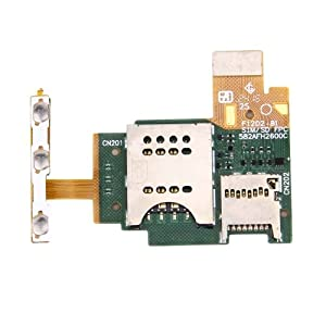 Sim Card Reader Contact Kabel Flex Notebook Ersatz für Sony Xperia J/ST26/ST26i