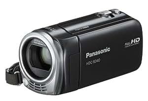 Panasonic HDC-SD40EG-K Full HD Camcorder (SD-Kartenslot, 17-fach opt. Zoom, 6,7 cm (2,7 Zoll) Display, Bildstabilisator) schwarz