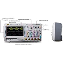 GOWE osciloscopio digital, 500MHz, 4gsa/S, 140mpts, 110000wfms/S, 2channels.