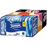 Tempo Classic Box 4 Ply Facial Tissue - 80 Pulls (Pack of 3)