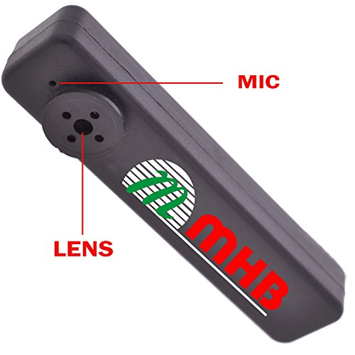 M MHB Button Camera Hidden Video & Audio Recording Button camera with Inbuild 16gb Memory .Original Brand Only Sold by M MHB.