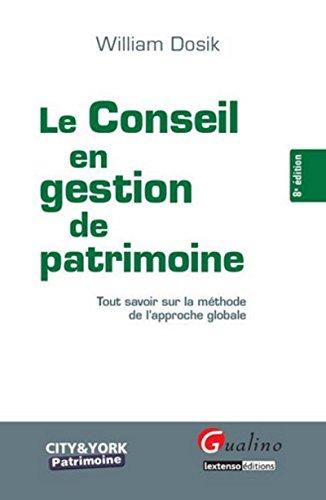 Le Conseil en gestion du patrimoine, 8ème édition