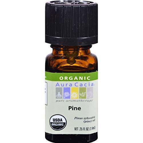 Organic, Pin, 0,25 fl oz (7,4 ml) - Aura Cacia