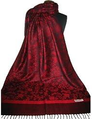 Nella-Mode Edler & Eleganter Schal, Stola; - Florales & Paisley-Muster; viele Farben