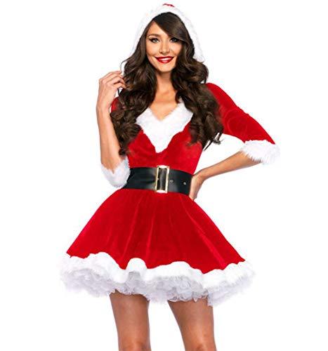 Frauen 2 Stück Frau Claus Kostüm Santa Baby Kostüm