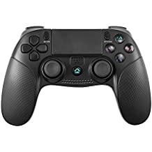 Controlador PS4, PowerLead Bluetooth Gamepad inalámbrico para Playstation 4 / Playstation 3 / PC Panel táctil Joypad con juego de vibración dual Control remoto Joystick
