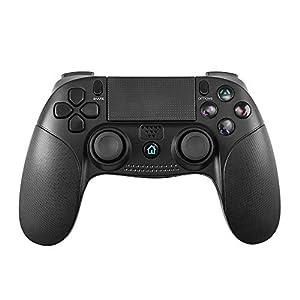 Game controller for PS4 Controller, PowerLead mit Dual-Vibration-Game-Fernbedienung Joystick Wireless Gamepad ist gut für Playstation 4 / Playstation 3 / PC Touch Panel Joypad