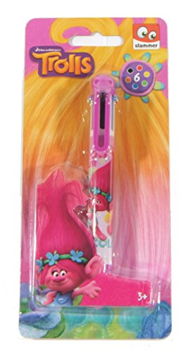 official-trolls-dreamworks-6-colour-changing-pen-christmas-gift-free-delivery