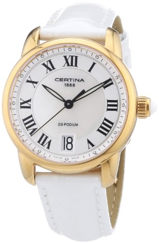 Certina Ladies'Watch XS Analogue Quartz C025,210,36,118,00 Leather