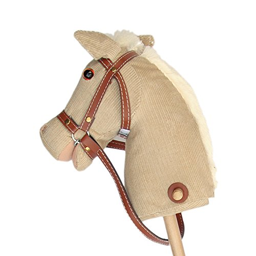 Pink Papaya caballo de juguete, Cordy, bonito caballo de juguete de cord con sonido: Relincho y galopeo