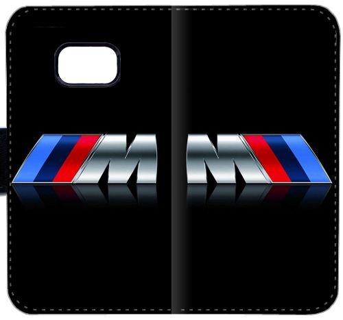 BMW M Logo 299FE Samsung GALAXY S7 Edge-Leder-Mappen-Handy-Fall Hülle 31PE6 Schutz DIY-Schlag-Fall-Abdeckung Hülle