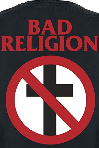 Bad Religion Classic Buster Veste Collège noir/blanc noir/blanc