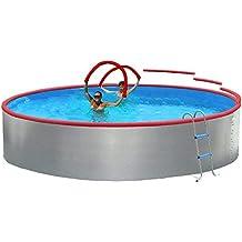 TOI - Piscina CIRCULAR FOAM 350 cm Filtro cartucho 2 m³/h