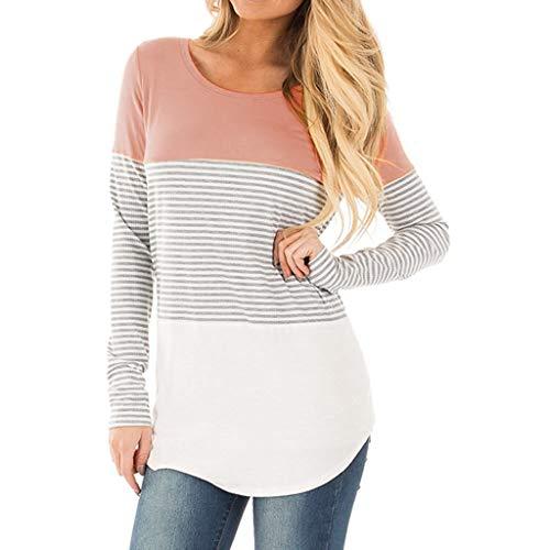 REALIKE--Umstandmode - Camisas - para Mujer Rosa XL