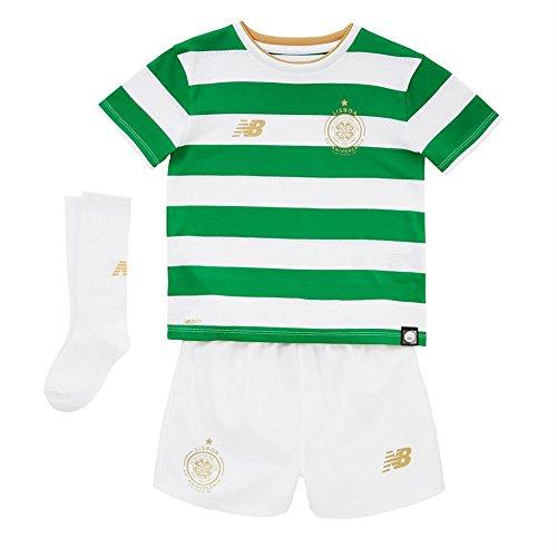 Celtic-FC-1718-Home-Mini-Kids-Football-Kit-WhiteGreen-size-18-24M
