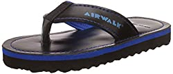 Airwalk Boys Flip Flop Navy Synthetic Flip-Flops and House Slippers - 1C UK