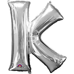 Anagram 32967 Globo de helio gigante, forma de la letra K