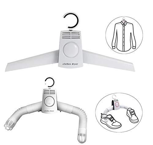 Asciugabiancheria riscaldante elettrica portatile asciugatrici ad asciugatura rapida asciugatura per scarpe, stendibiancheria pieghevole asciugabiancheria asciugatrice asciugatrice per manufatti per viaggi domestici