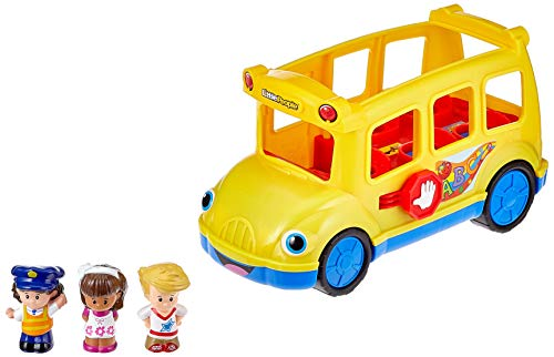 Fisher-Price BJT48  Little People Schulbus (Little People-spielzeug-bus)