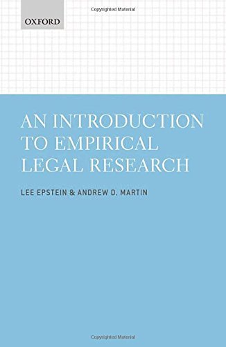 An Introduction to Empirical Legal Research by Lee Epstein (2014-10-14)