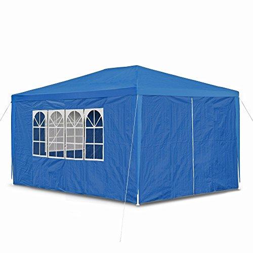 jom-gartenpavillon-mit-4-seitenwanden-3-x-fenster-und-tur-mit-reisverschluss-pe-100g-allzweck-party-