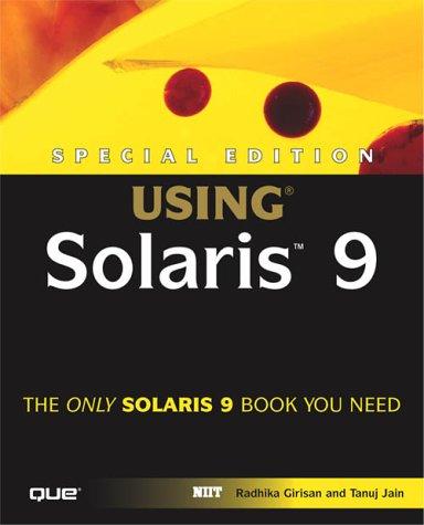 Special Edition Using Solaris 9