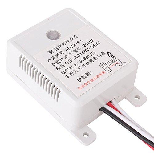 AC 180-240V automático interruptor sensor luz