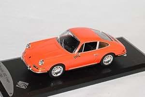 Porsche 912 911 Coupe Orange 1964 1/43 Solido Modell Auto Modellauto
