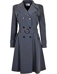 Klassischer Trenchcoat Dames Blauw Only