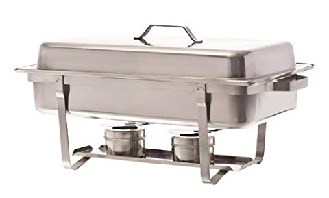 Update International (SCC-19) 8 Qt Stainless Steel Rectangular Stackable Chafer by Update International