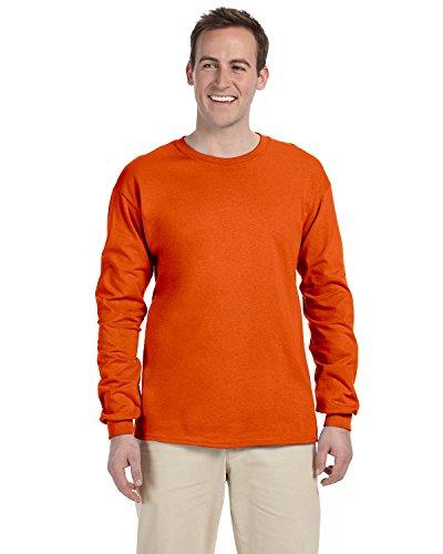 Gildan Camicia da donna–Per uomo Arancio