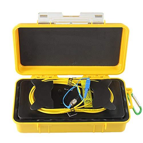 GreatWall FC-UPC/SC-UPC Professioneller Einzelmodus 2000M OTDR Startkabel Box Faserring gelb & zurück -