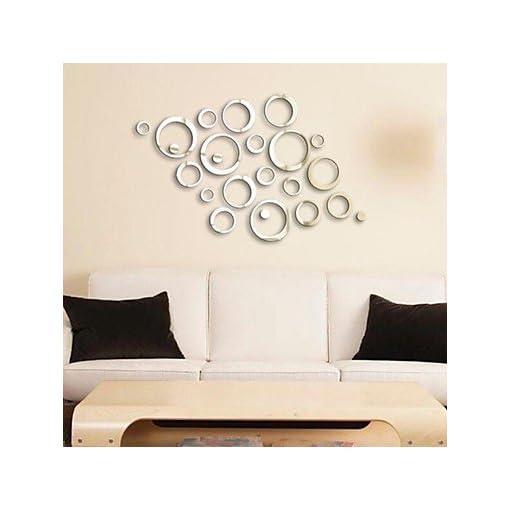 Specchi Decorativi Da Parete.Specchi Adesivi Murali Adesivi A Parete Specchio Adesivi Decorativi